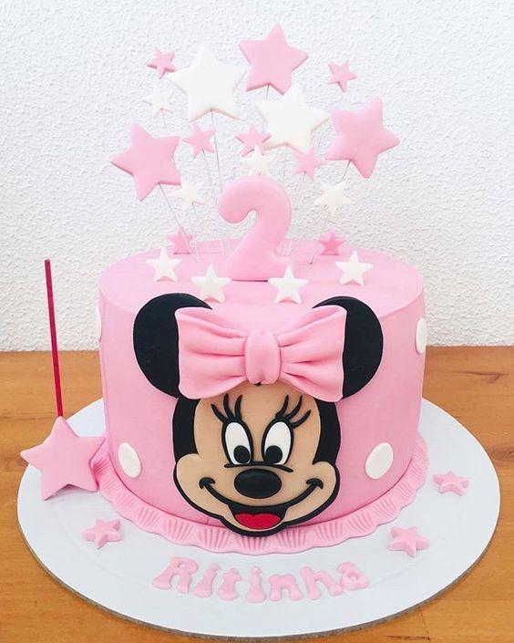 minnie cake design 6