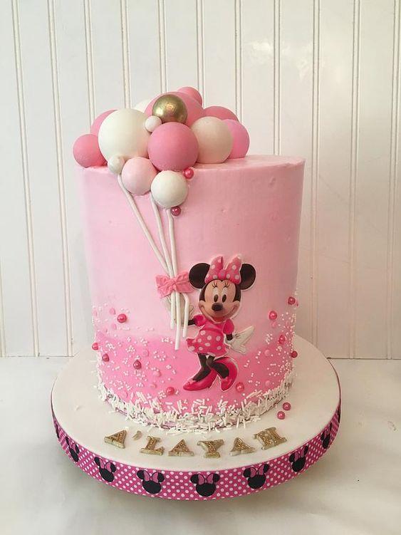 minnie cake design 8