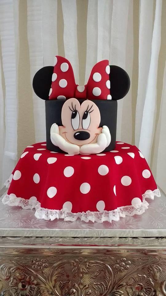 minnie cake design