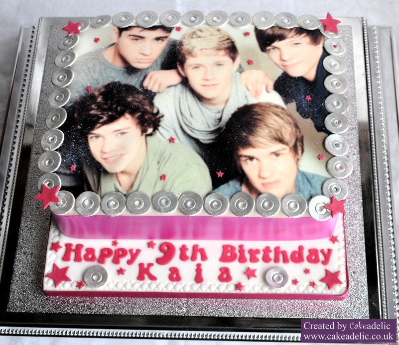 one direction birthday cake 01