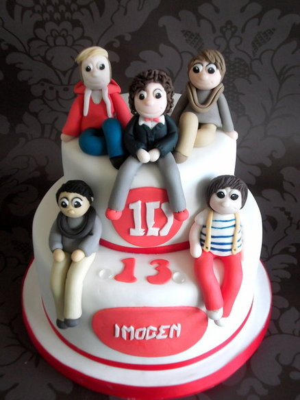 one direction cake birthday