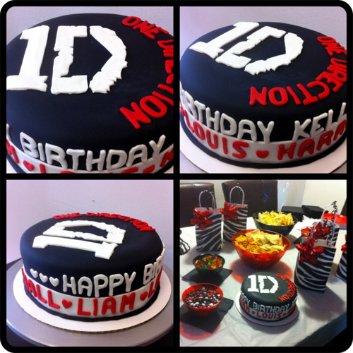 Outstanding One Direction Birthday Cakes Funny Birthday Cards Online Elaedamsfinfo