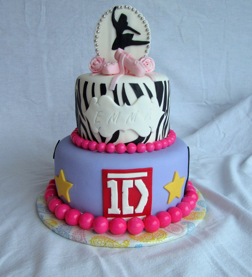one direction cakes ideas
