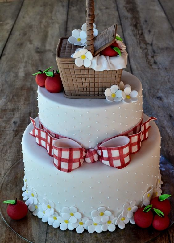 picnic party cakes ideas 2