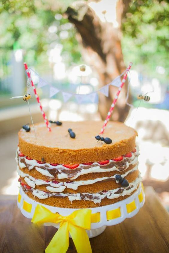 picnic party cakes ideas 7