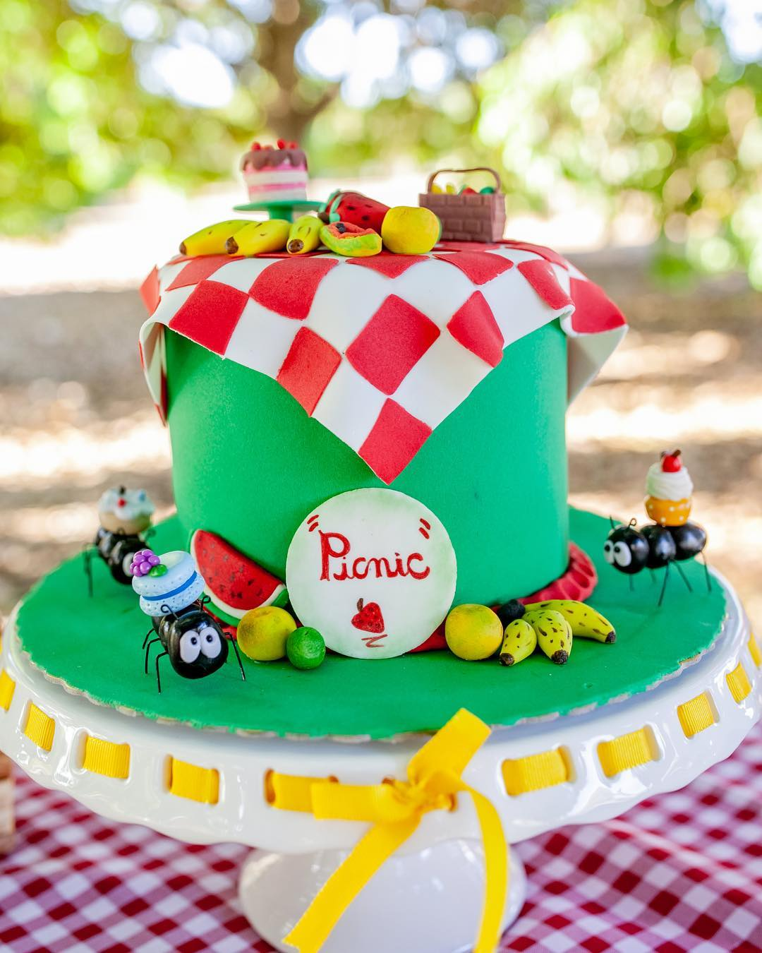 picnic party cakes ideas 9
