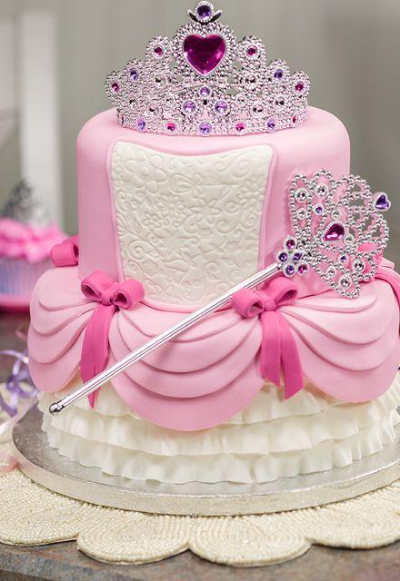 princess birthday cake 11