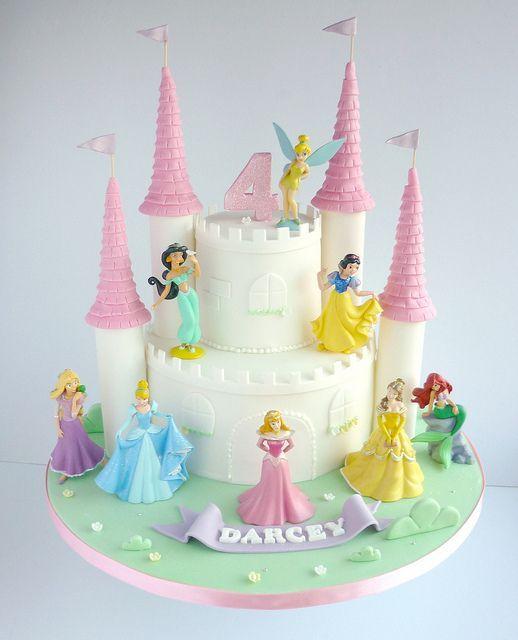 princess birthday cake 12