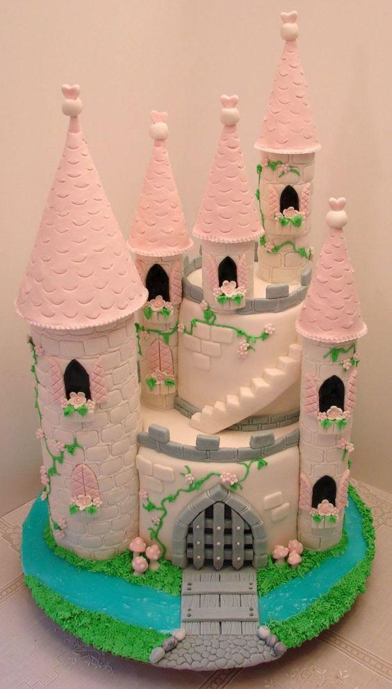 princess birthday cake 2
