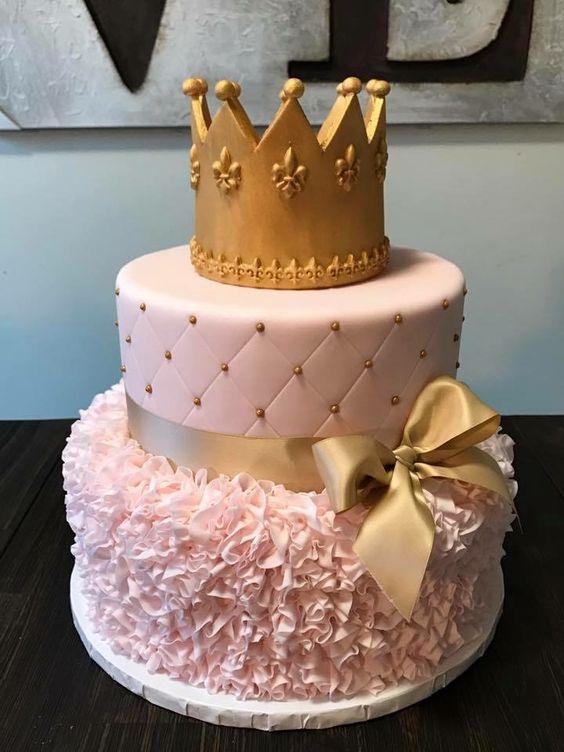 princess birthday cake 3