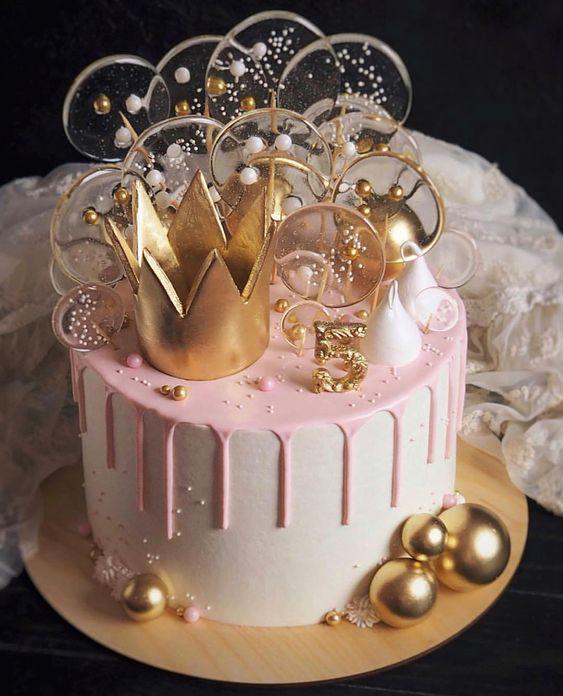 princess birthday cake 5