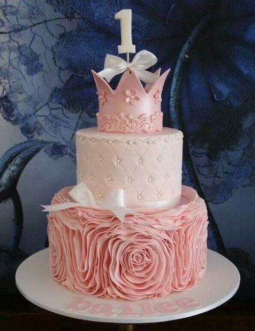 princess birthday cake 7