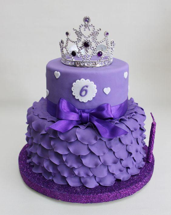 princess birthday cake 9