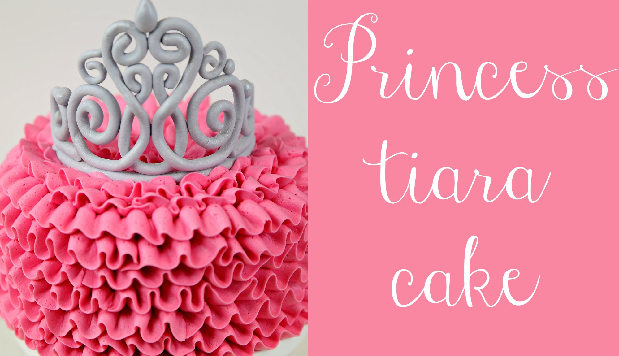 How To Cover A Cake In Fondant Ruffles
