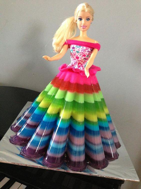 princess cakes made with gelatin 1