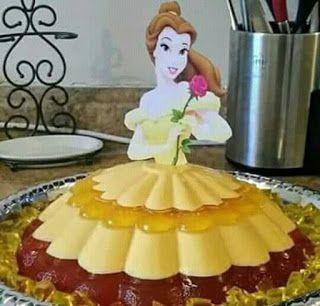 princess cakes made with gelatin 10