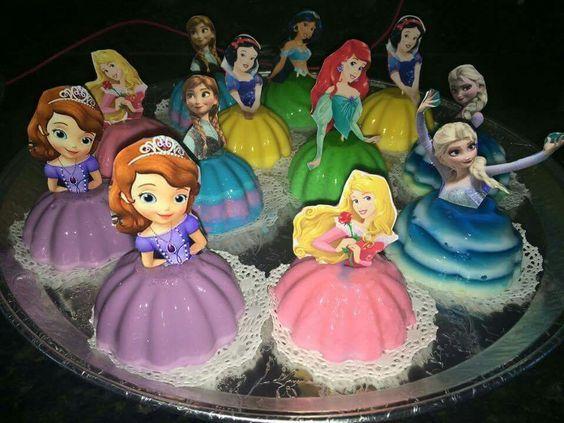 princess cakes made with gelatin 2