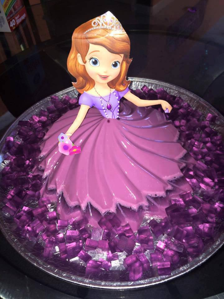 princess cakes made with gelatin 3