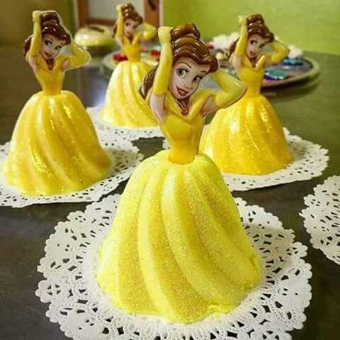 princess cakes made with gelatin 4