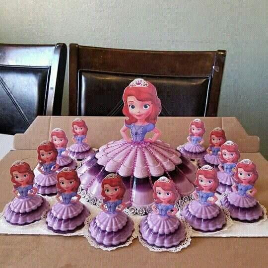 princess cakes made with gelatin 5