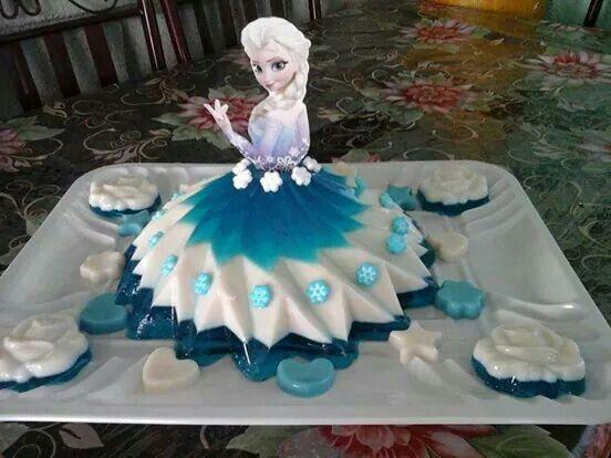 princess cakes made with gelatin