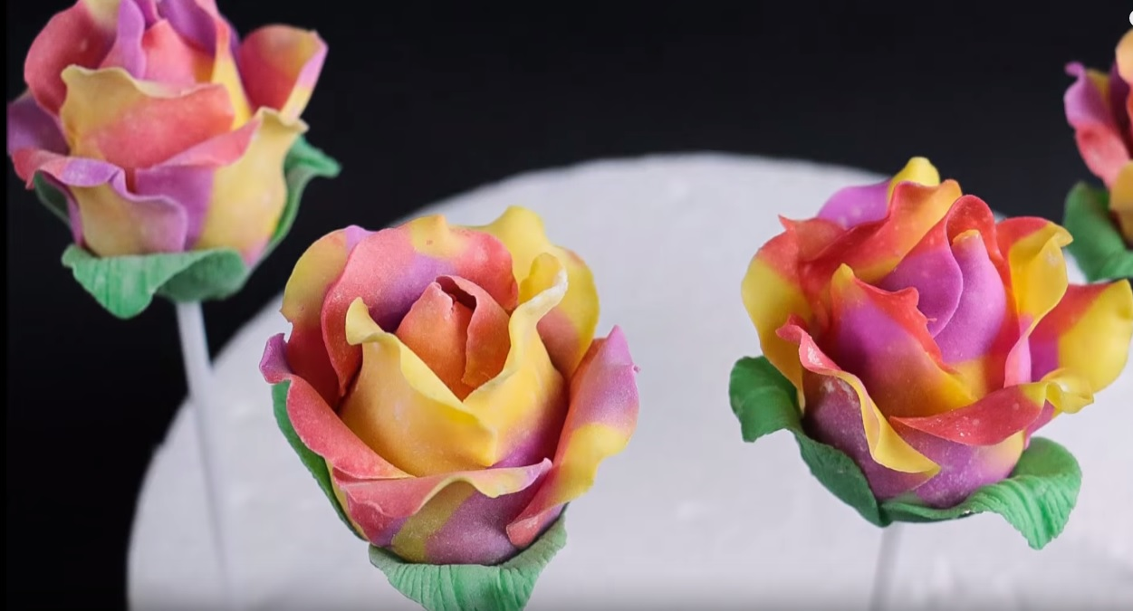 how to make chocolate roses without corn syrup