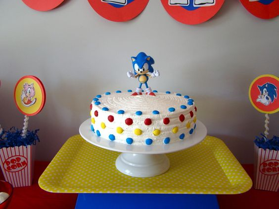 sonic decorated cakes 10