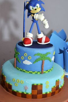 sonic decorated cakes 3