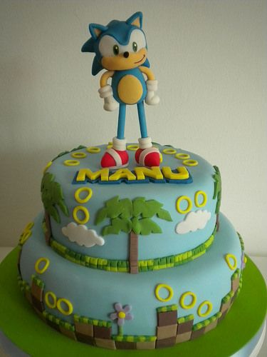 sonic decorated cakes 4