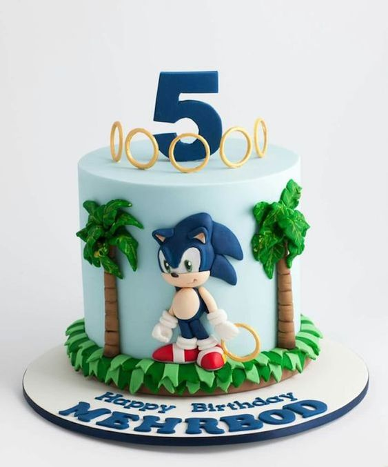sonic decorated cakes 5