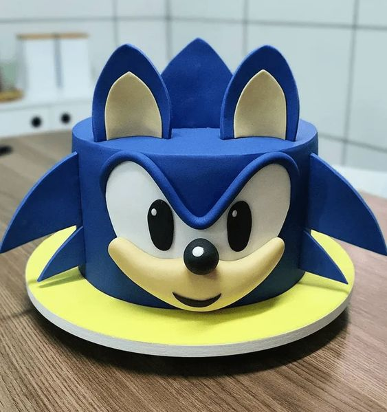 sonic decorated cakes 6