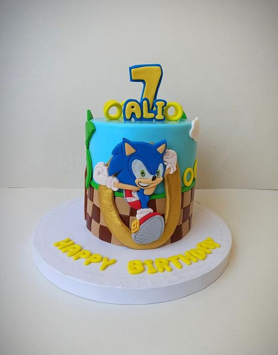 sonic decorated cakes 7
