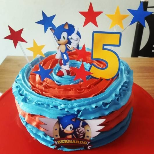 sonic decorated cakes 9