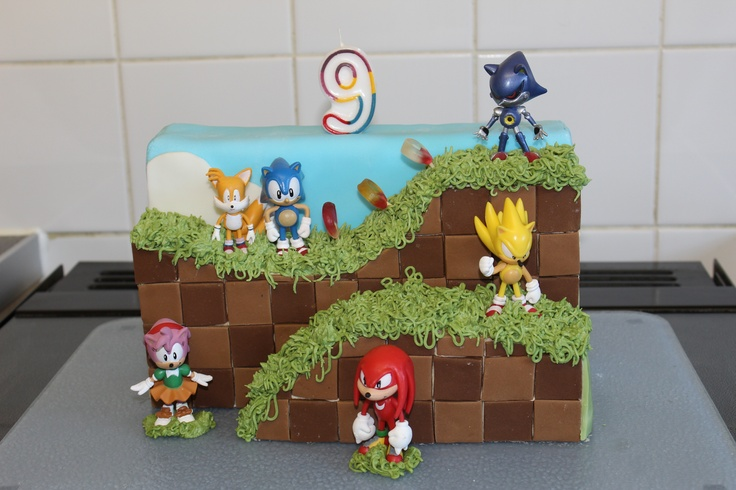 sonic decorated cakes.5
