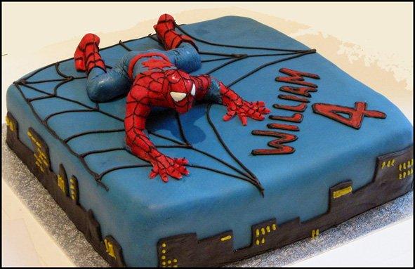 spiderman cake WEB
