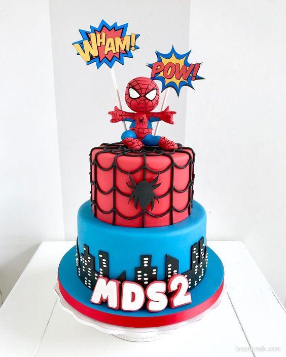 spiderman cakes 10
