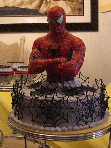spiderman cakes 11
