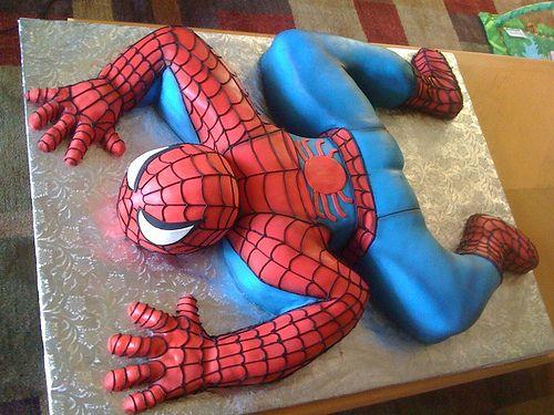 spiderman cakes 12