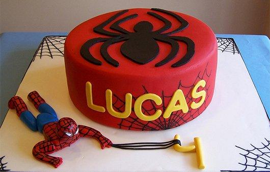spiderman cakes 15