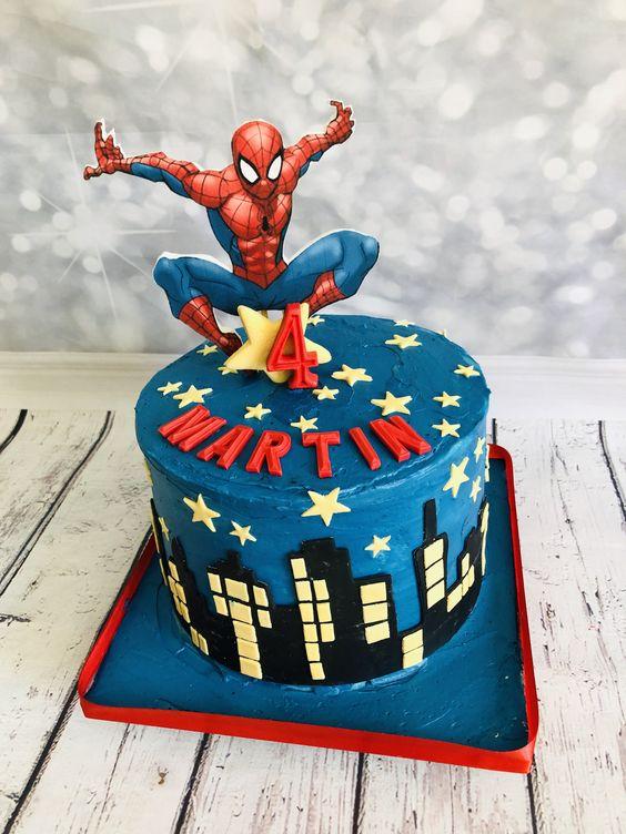spiderman cakes 2