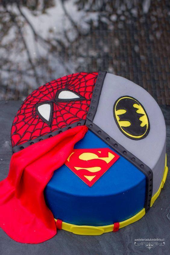 spiderman cakes 3
