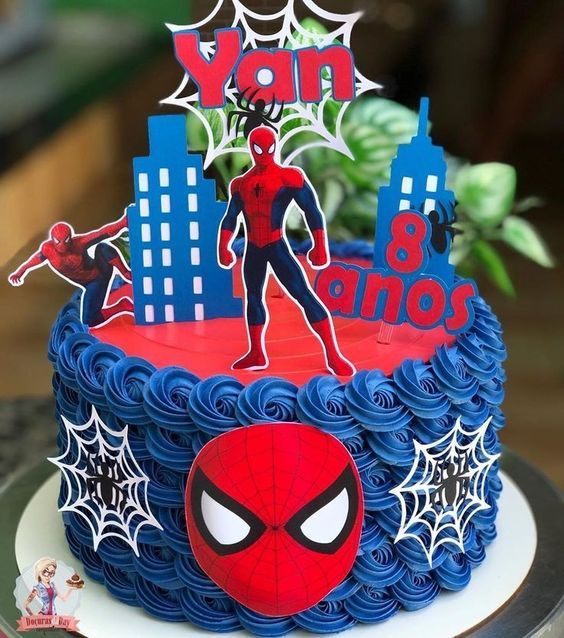 spiderman cakes 4