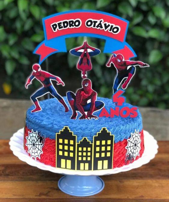 spiderman cakes 5