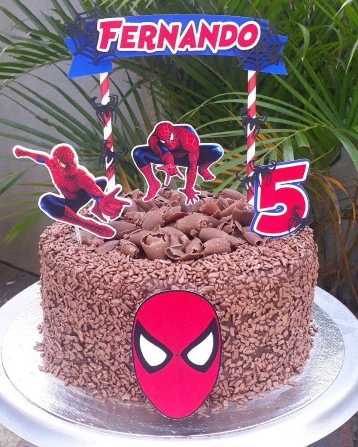 spiderman cakes 6