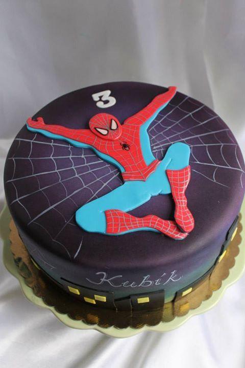 spiderman cakes 7