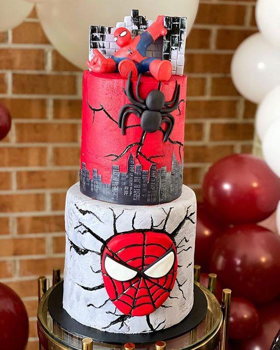 spiderman cakes 8