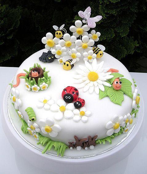 spring theme cakes 2