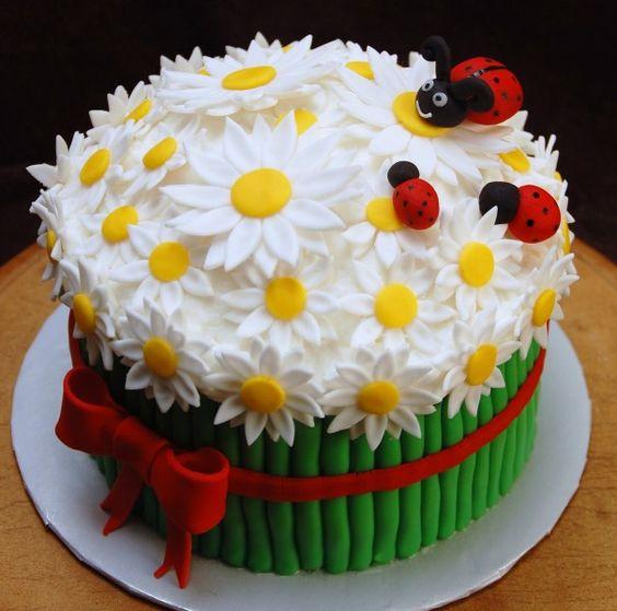 spring theme cakes 6