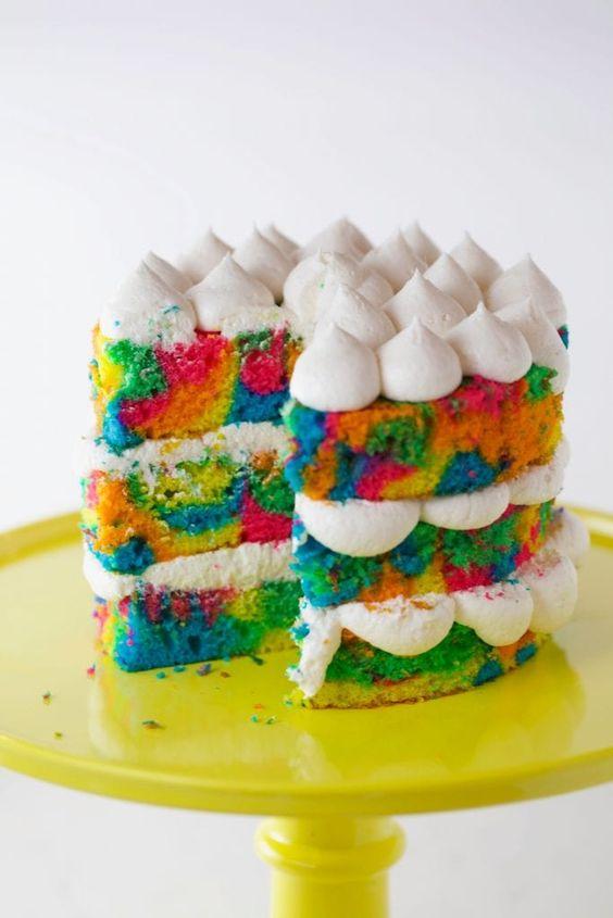 tie dye cake 10