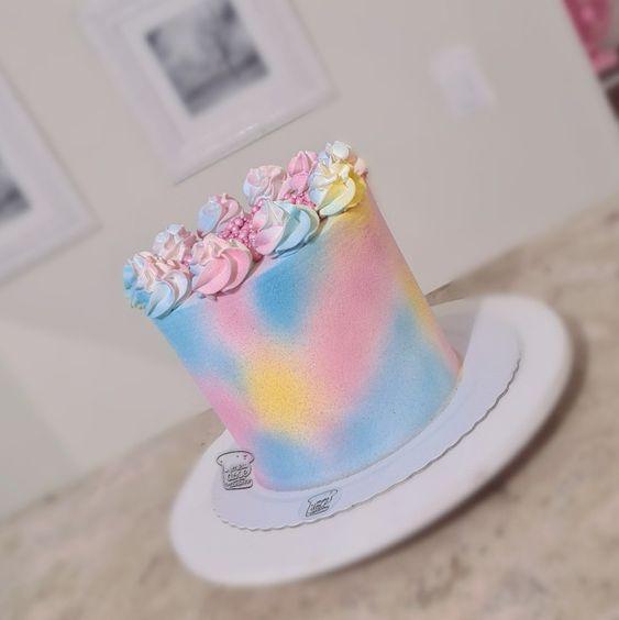 tie dye cake 2